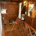 trap door  to the room