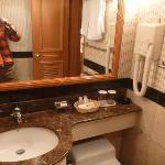洗面所も狭いけど綺麗でした