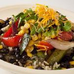 Healthy 100% fresh & natural burrito bowls