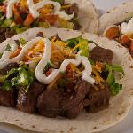 Steak & Carnitas are 100% freshly cooked and natural