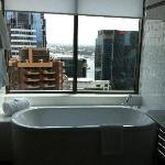 Beautiful bath and views!