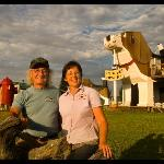Dog Bark Park creators & innkeepers, Dennis & Frances