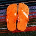 Orange Room Slipper
