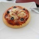 Blue Pumpkin pizza!