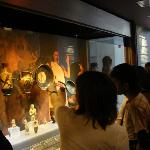 Daily life in antiquity, the permanent exhibition on the 4th floor of the Main Building