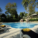 One of the 3 pools at Centara Villas Samui