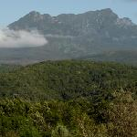View of nearby Outeniqua Mountains
