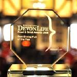 Devon Dining Pub of the Year 2011