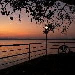 terrace, polonnaruwa rest house