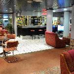 Ground floor bar area just by the restaurant.