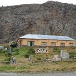Vista de la Hostería Koonek