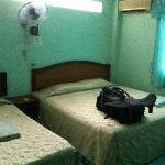 Single and double bed