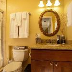 Tuscan Room Travertine & Granite Bathroom