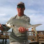 Capt. Gary with winter pompano