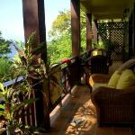 Our private verandah