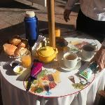 Great breakfast..plenty of Coco Tea.