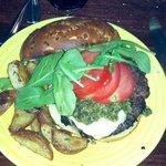 Margarita Burger - Kobe beef - huge & so good