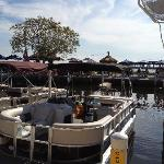 Pull your boat up at the marina!