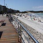 Playa do Forte, rambla