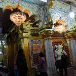 the Hazrat Nizamuddin Darga