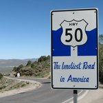 Foto de Loneliest Highway in America (Hwy. 50)