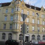 Hotel am Bahnhof, Außenbereich