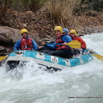 Rafting on the Ahansel River, Morocco