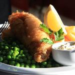 Fish and Chips from The Bar Menu