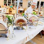 Buffet Terrace