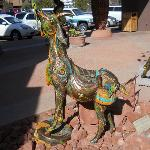 A shopping area in Sedona about 15 minutes drive.
