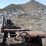 The nearby town of Jerome has a rich history.