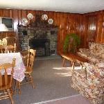 Typical 2 bedroom cottage living room