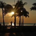 Sunset at Smuggler's Cove