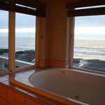 A tub with a view
