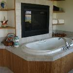 Jacuzzi/In-wall fireplace (both suites)