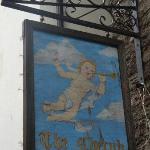 Cherub signage