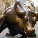 Learn how this bull saved Wall Street