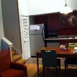 Room 822 - kitchen