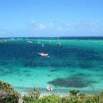 View of Tobago Cays from Jamesby
