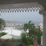 View During Hurricane Tomas
