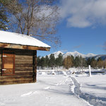 San Francisco Peaks in winter