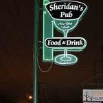 Outside Sign Sheridan's Irish Pub Rochester