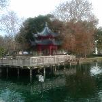 Lake Eola Japanese Pagoda.