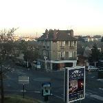panorama dalla mia stanza: si vede la tour eiffel
