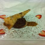 astounding chocolate dessert