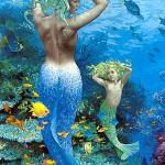 Beautiful, friendly Mermaids, for underwater tours...(hahaha!)