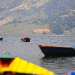 Fewa Lake in Pokhara