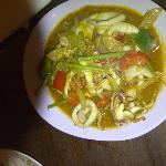 The unique sotong kari