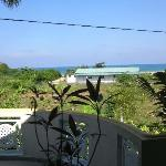 """Ausblick von """"meiner"""" Terrasse aufs Meer"""