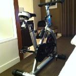 Optional free amenities: In Room Exercise Bike